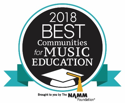 2018Best Communities for Music Education