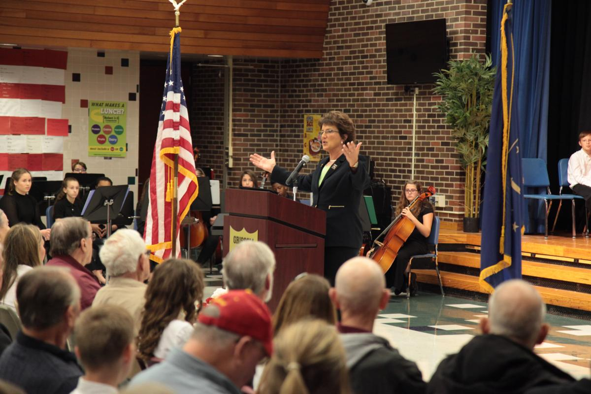 Congresswoman Jackie Walorski at Grissom