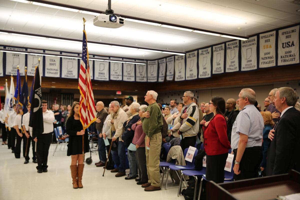 Schmucker Veterans Day program