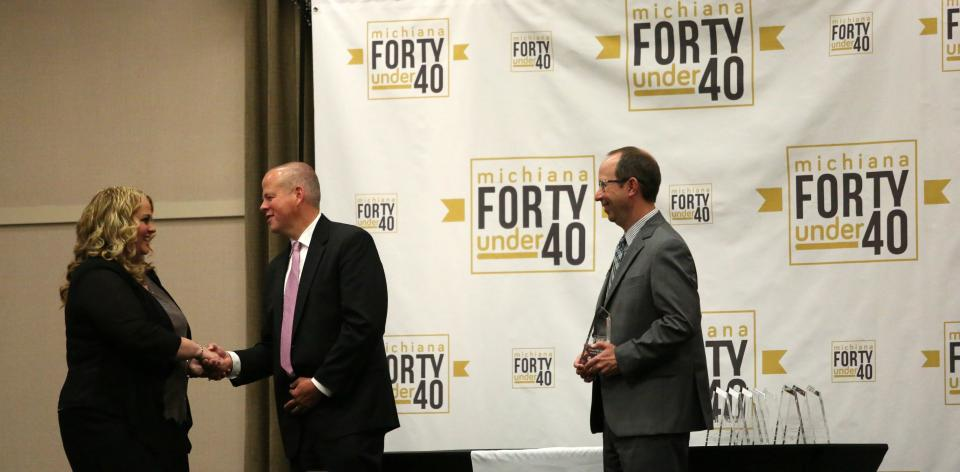 "Dr. Jenny Sears Honored at ""Forty under 40"" Luncheon"