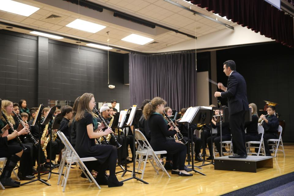 Discovery Honors Band (November 2018 performance)