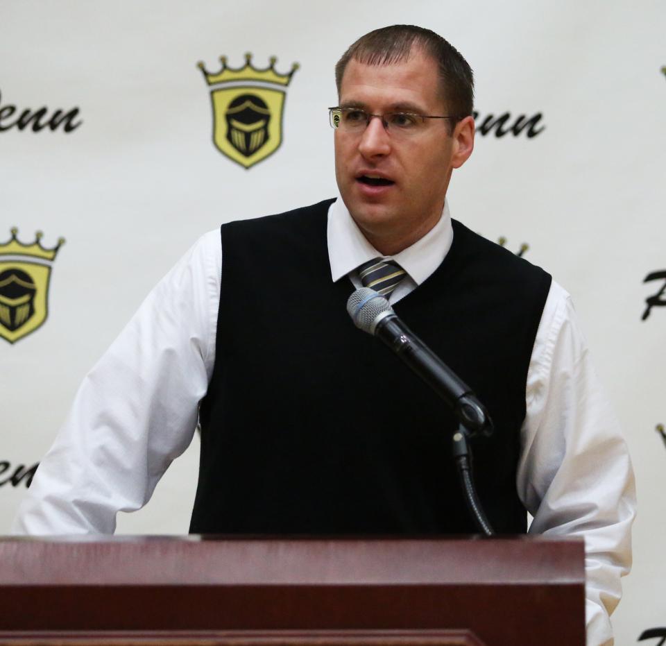 Aaron Leniski at Penn Athletic Signing Day (Feb. 7, 2018)