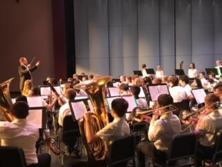 one of Schmucker's Band performing at ISSMA