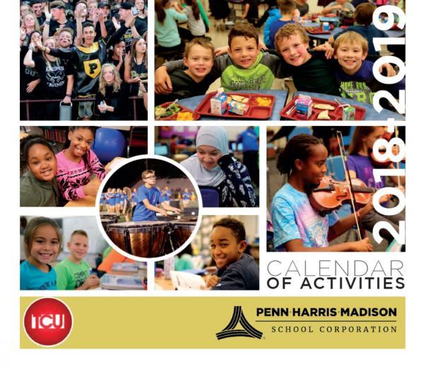 2018-19 P-H-M School Activities Calendar