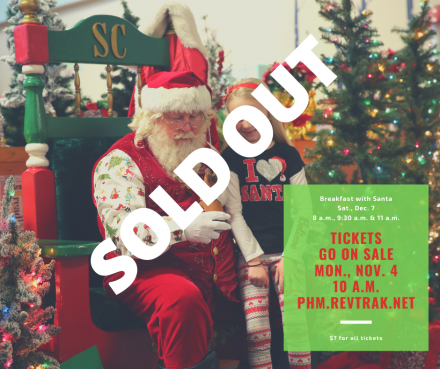 Breakfast with Santa, SOLD OUT