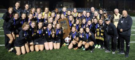 Penn Girls Soccer 2017 Championship Team