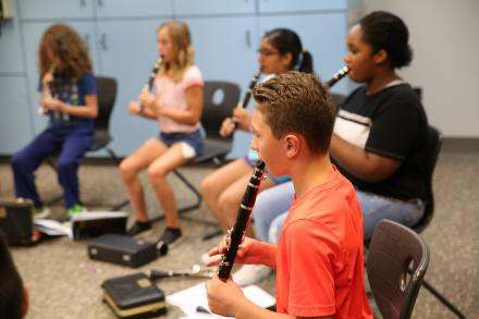 Middle school music instrument selection