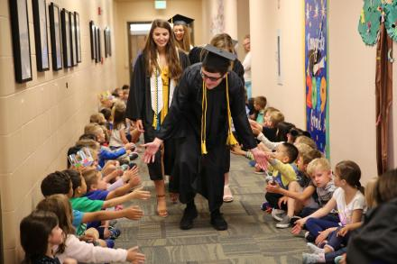 Class of 2019 Senior Parade at Northpoint