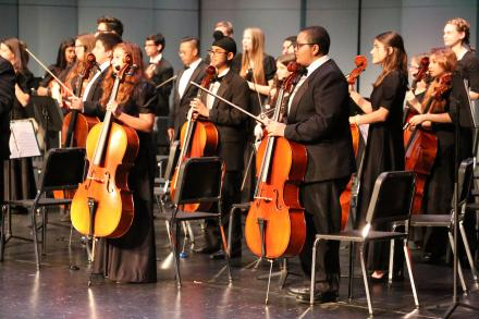 Penn Orchestra students