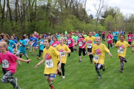 4th grade girls race