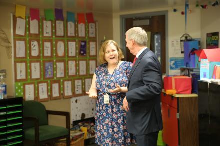 P-H-M Elementary Teacher of the Year Christine Austin