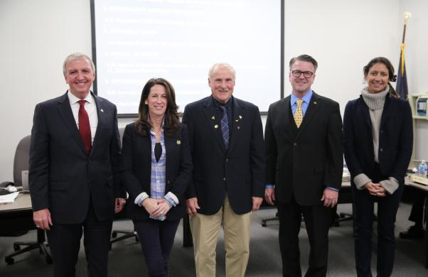 Newly Re-elected P-H-M Board of School Trustees Sworn In (1/14/19)