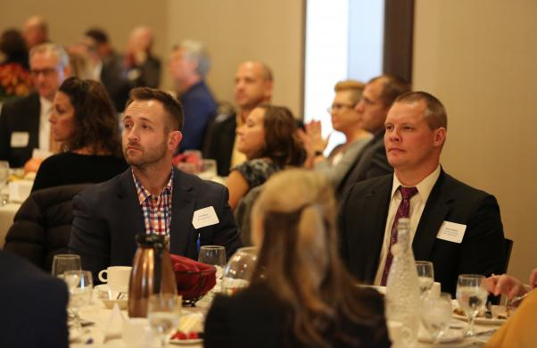 Guests enjoy the 2017 Superintendent's Luncheon