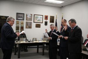 PHM Board Members sworn in for new term