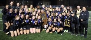 Penn Girls Soccer 2017 Championship Team